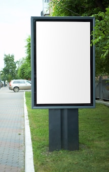 Advertentie hamsteren in de stad met kopieerruimte