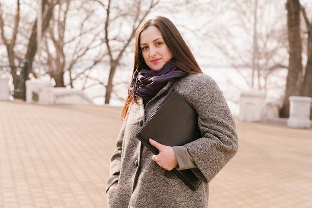 Advocaat in het park