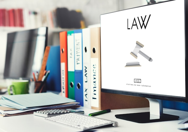 Advocaat juridisch advies wet compliance concept