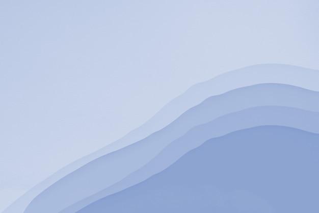 Afbeelding aquarel licht staalblauw behang