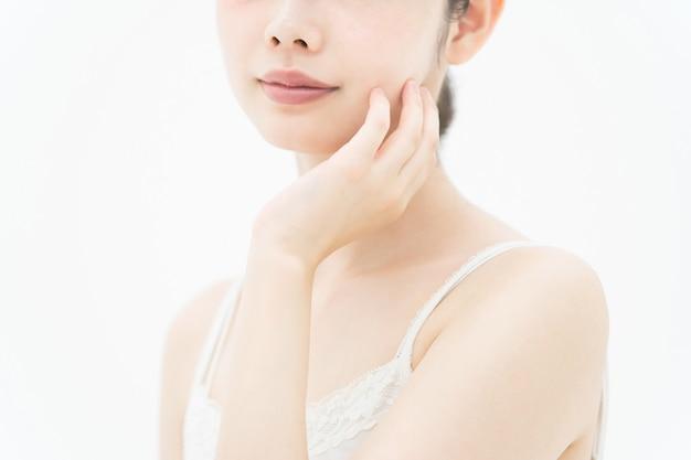 Afbeelding huidverzorging (aziatische vrouw)
