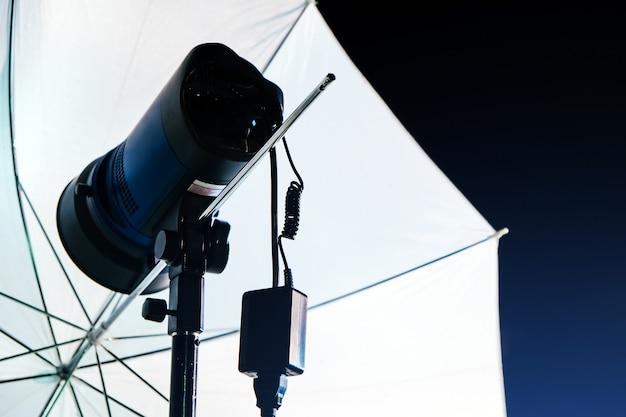 Afbeelding studio verlichting achtergrond
