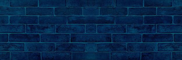 Afbeelding van blauwe bakstenen muur