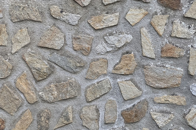 Afbeelding van de muur van steen close-up, achtergrond, textuur