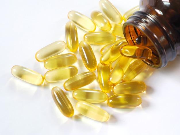 Afbeelding van levertraan omega 3.