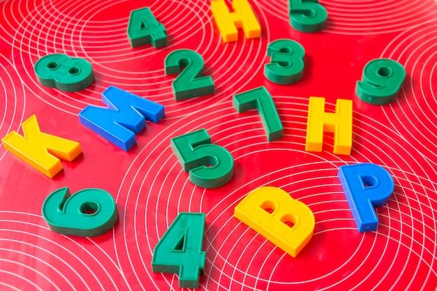 Afbeelding van magnetische nummers