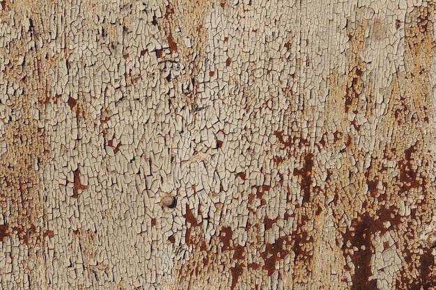 Afbladderende verf roestende metalen ruwe textuur. verf met roestige metalen textuur