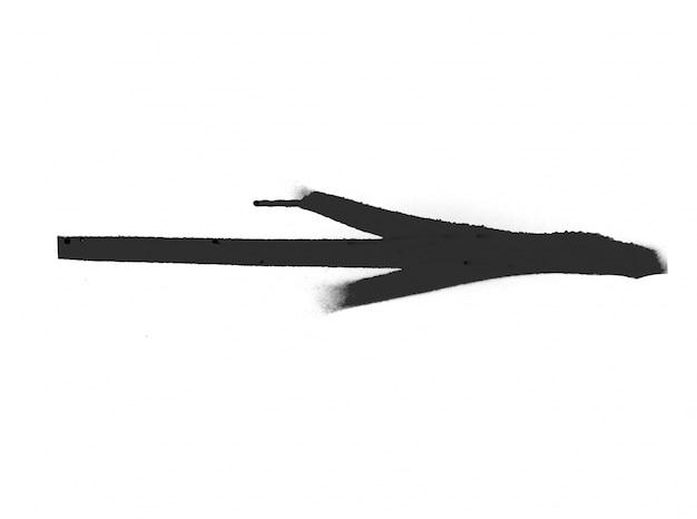 Afdruk splat verf spetterde silhouet