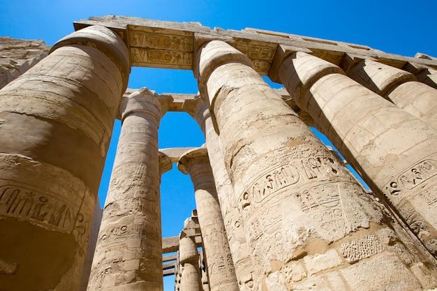 Afrika, egypte, luxor, karnak-tempel
