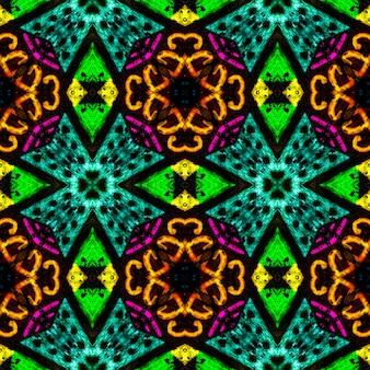 Afrikaanse kunsttekening. naadloze azteekse patroon. tribale decoratieve print. tribal folk ornament.