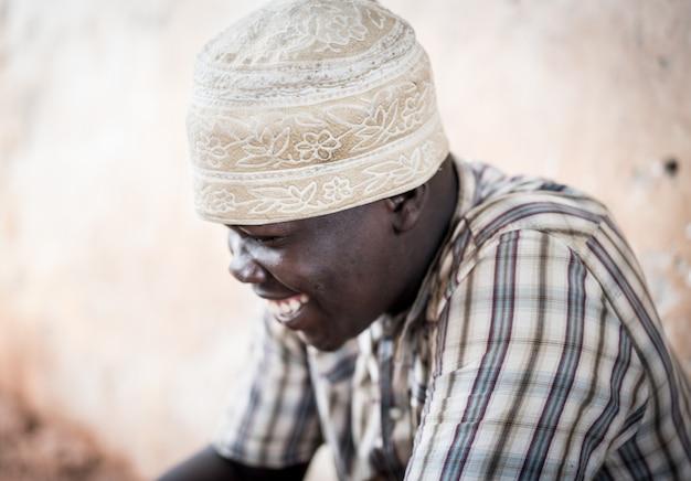 Afrikaanse tiener portret