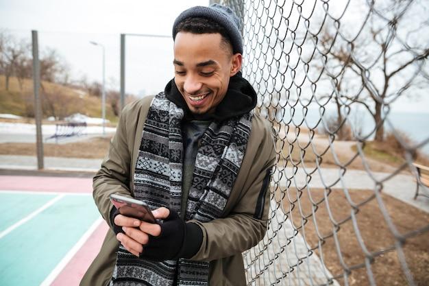Afro-amerikaanse jonge man