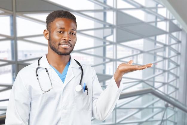 Afro-amerikaanse zwarte dokter
