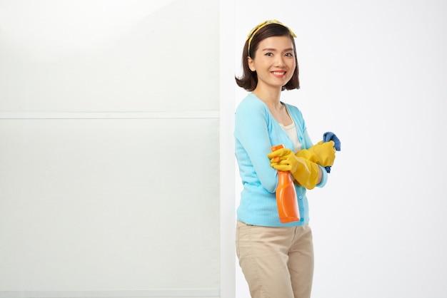 Afronding van huishoudelijk werk