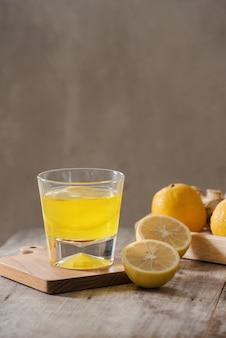 Afslankthee met gember, citroen en vitamines