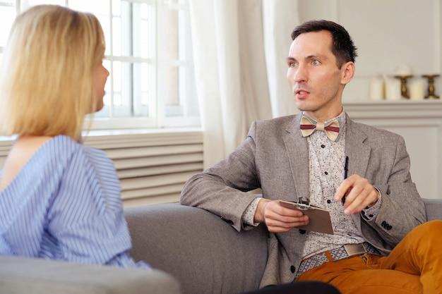 Afspraak bij psycholoog