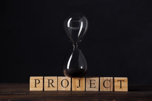 Aftellen van de tijdlijn van het project, start een bedrijf of start een bedrijf