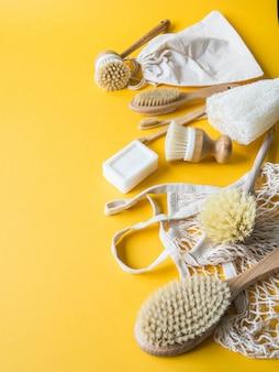 Afwasborstels, bamboetandenborstels, herbruikbare tassen.