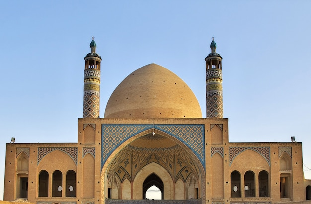 Agha bozorg-moskee, kashan, iran