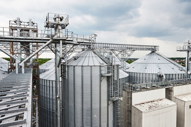 Agrarische silo