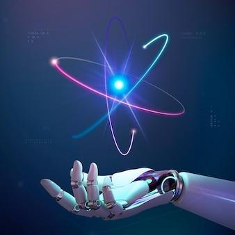 Ai-innovatie in de kernenergie-industrie, disruptieve technologie voor slimme netwerken