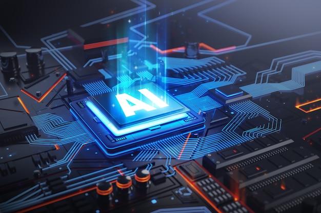 Ai-printplaattechnologiesysteem