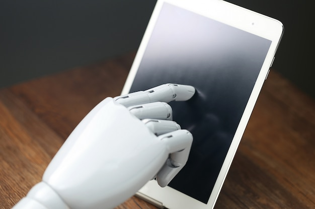 Ai robot operationele tablet