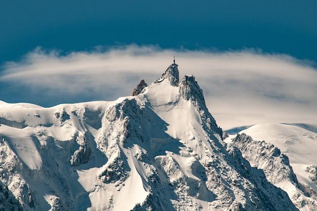 Aiguille du midi, mont blanc-massief