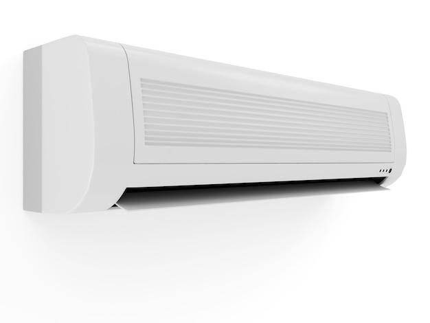 Airconditioner geïsoleerd