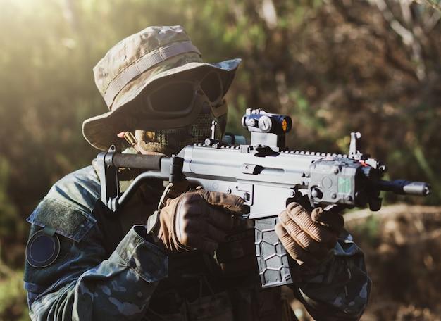 Airsoft militair spel