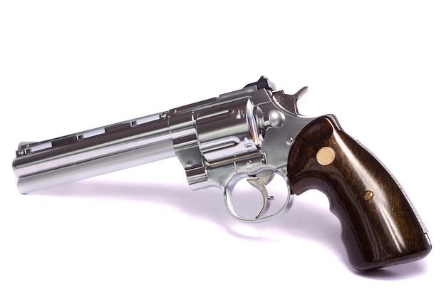 Airsoft-pistool in het wit