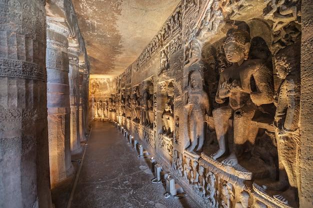 Ajanta grotten, india