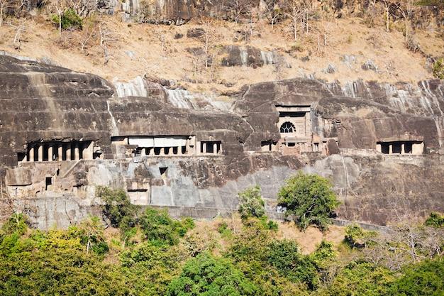 Ajanta-grotten, india