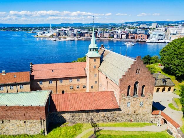 Akershus-vesting in oslo, noorwegen