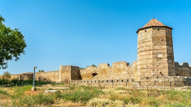 Akkerman fort in bilhorod-dnistrovskyi, odessa oblast van oekraïne