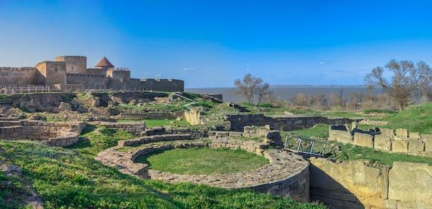 Akkerman fort in de buurt van odessa, oekraïne