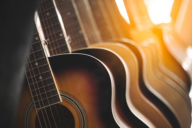 Akoestisch gitaarinstrument