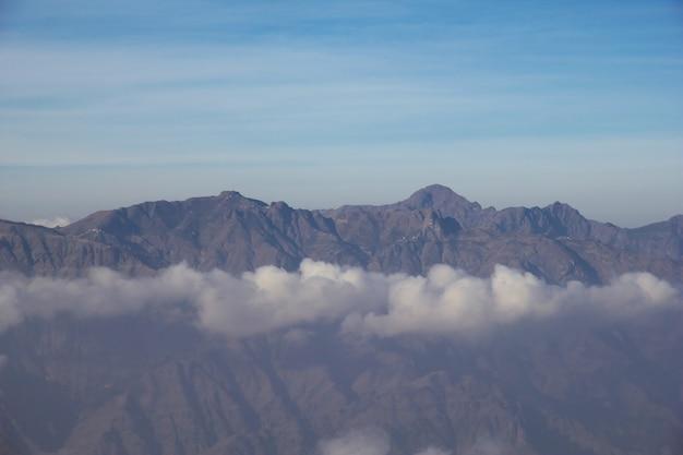 Al-mahwit dorp in bergen, jemen