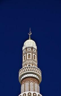 Al saleh-moskee, grote moskee van sana'a, jemen