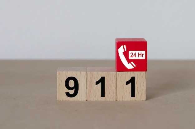 Alarmnummers 911-services.