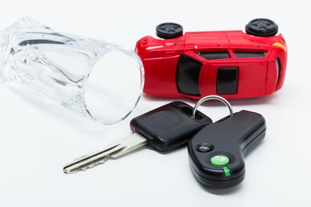 Alcohol en autosleutels