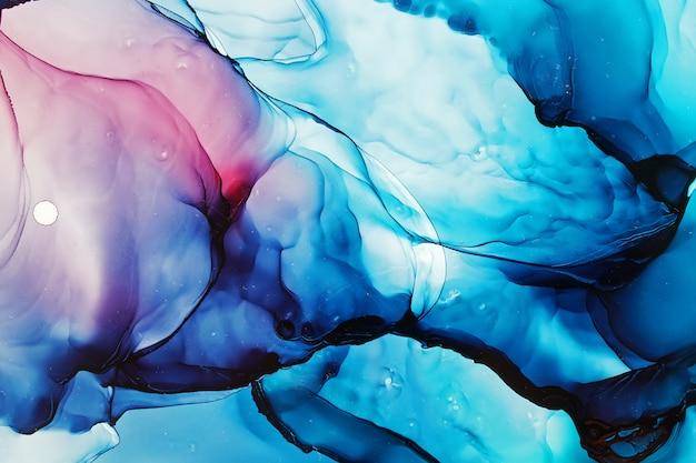 Alcohol inkt abstracte textuur