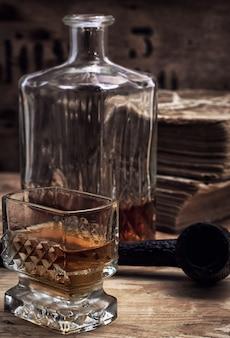 Alcoholische drank van whisky