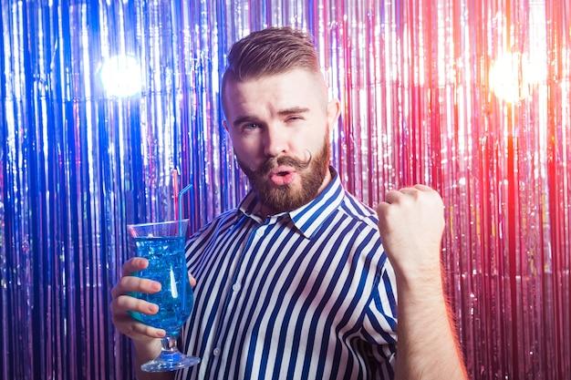 Alcoholisme, plezier en dwaas concept