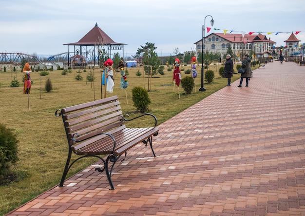 Alexander nevsky park in bender, transnistrië