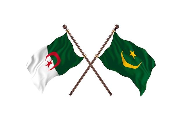Algerije versus mauritanië two flags