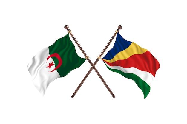 Algerije versus seychellen two flags