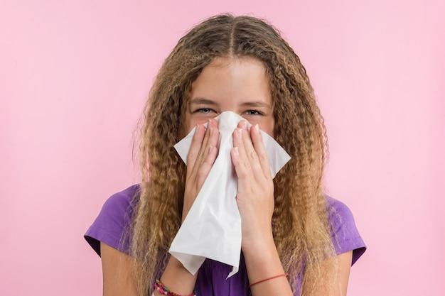 Allergische rhinitis op een zomervakantie