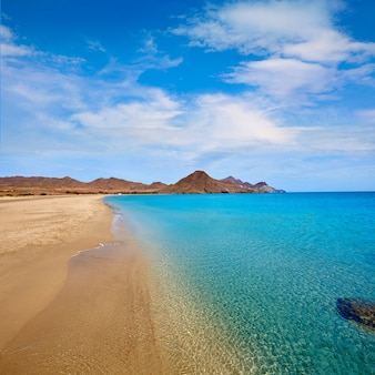 Almeria playa genoveses strand cabo de gata