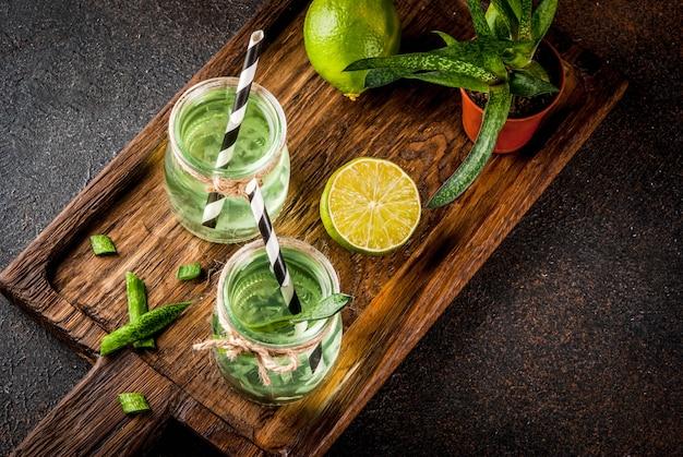 Aloë vera of cactussap